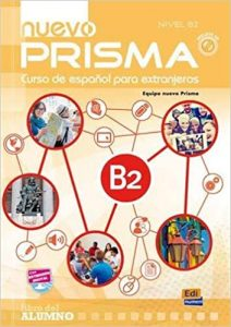 Material included Spanish course online nuevo prisma