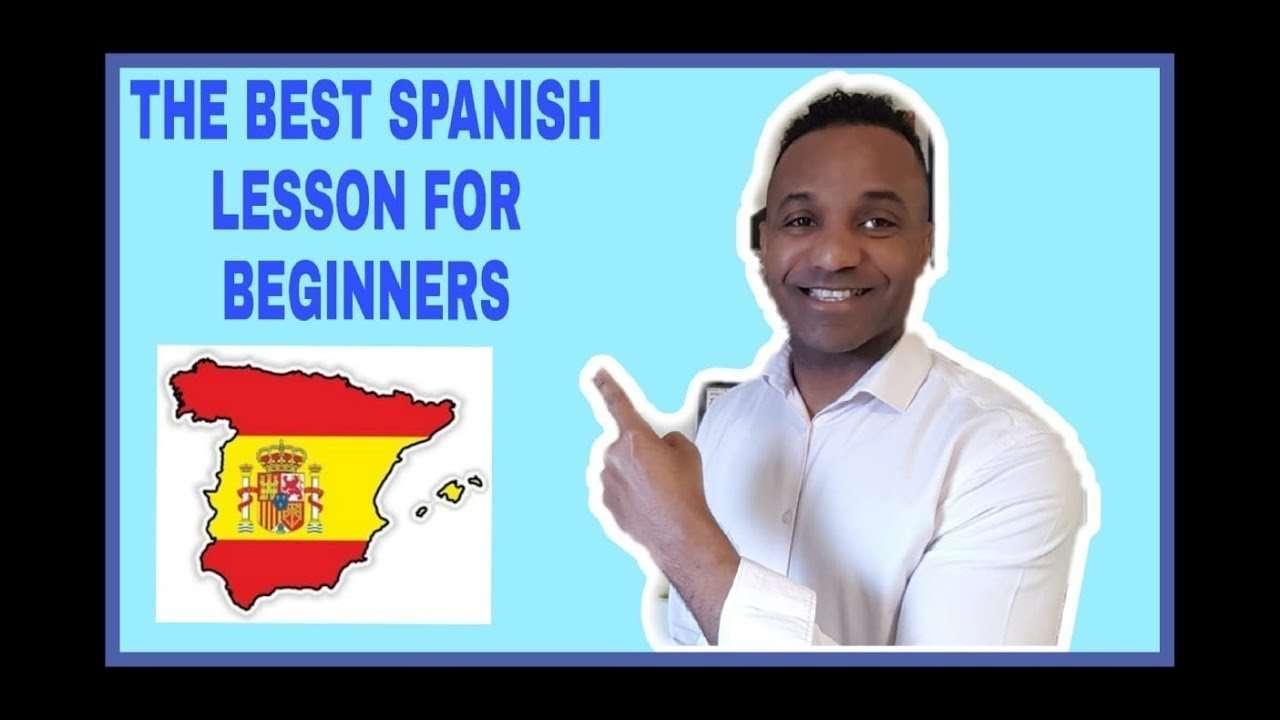 Spanish lesson for beginners